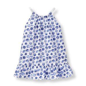 Jamie and Jack Seashell Shell Print Dress 6-12 Mo